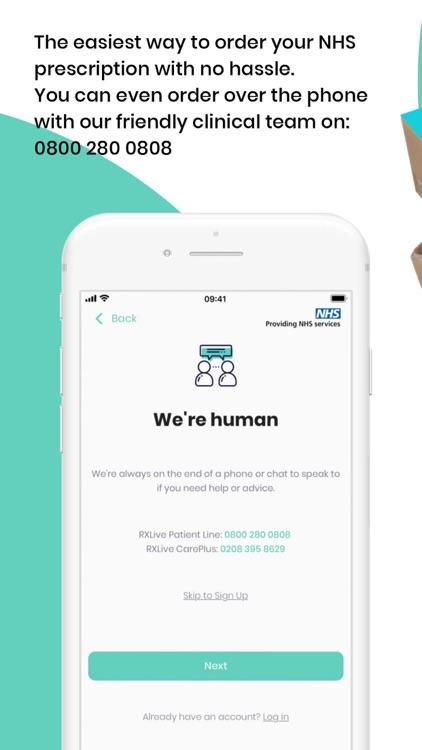 RXLive - NHS prescriptions