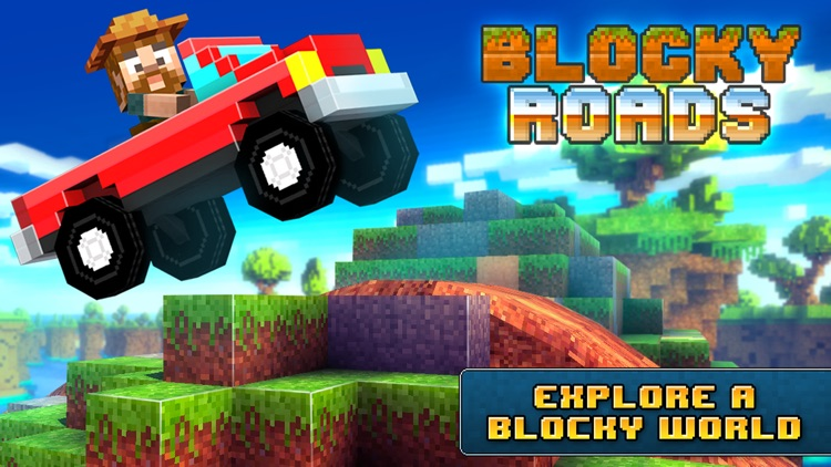 Blocky Roads screenshot-5