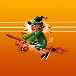 Scary Halloween Stickers App