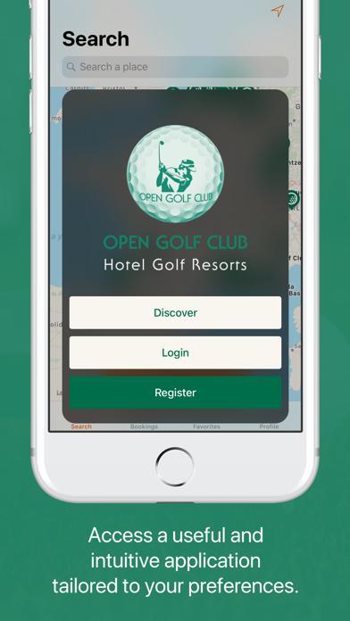 Open Golf Club screenshot one
