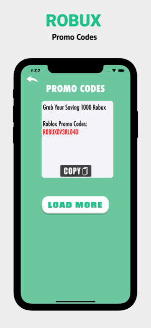 Robux Promo Codes For Roblox On The App Store