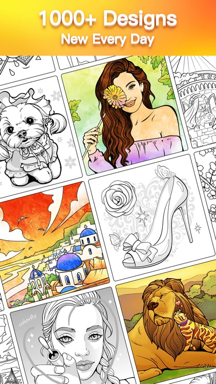 Colorfly : Coloring Book