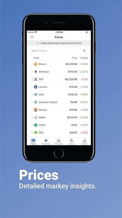 Coins Live: Crypto Market Cap screenshot-4