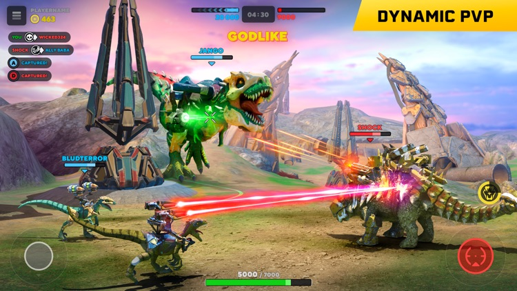 Dino Squad Online screenshot-0