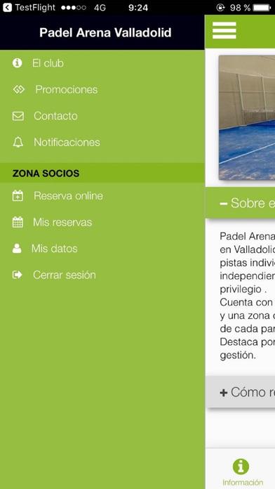 Padel Arena Valladolid screenshot 3