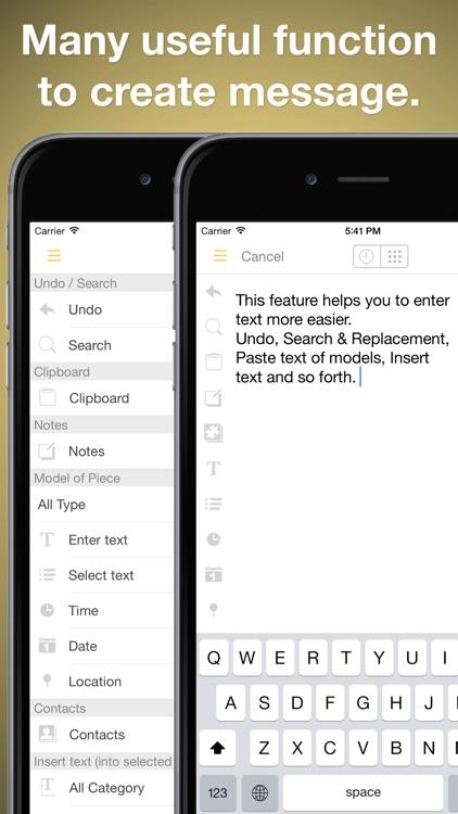 Line-Writer: Flexible Template screenshot-0