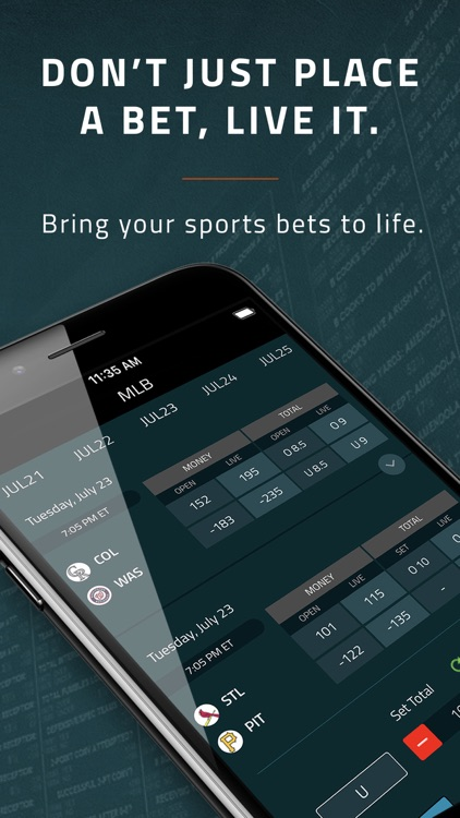 Covers Live – Betting manager