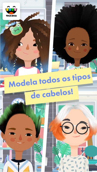 Screenshot for Toca Hair Salon 3 in Portugal App Store