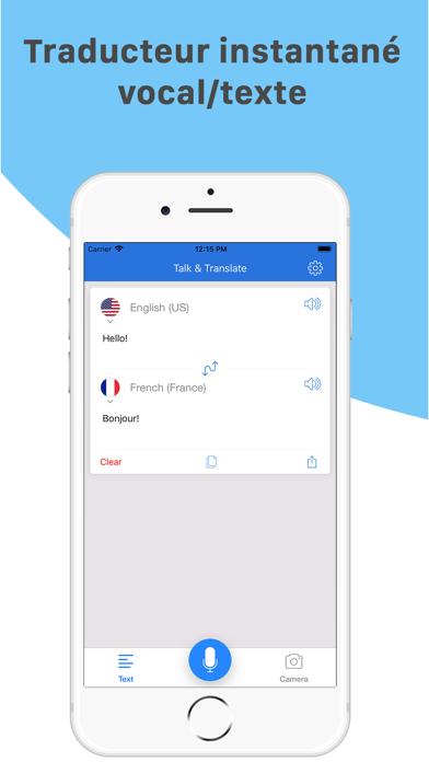 Screenshot #1 pour Talk & Translate