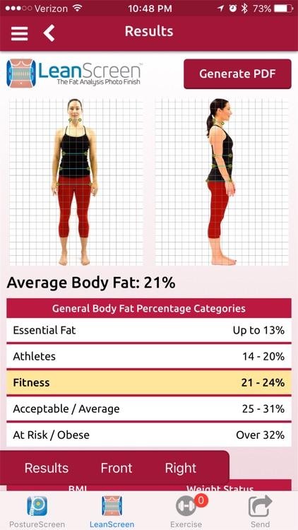 LeanScreen: Body Fat Analysis screenshot-0