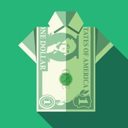 Origami en dollar