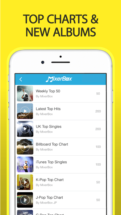 Free Music Player: MixerBox 3 App Profile  Reviews, Videos