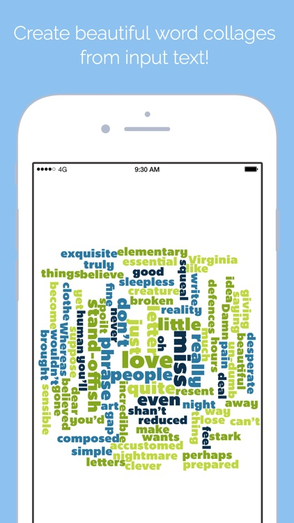 Word Collage screenshot-0