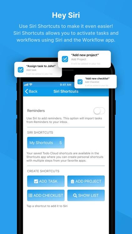 Todo - ToDo & Task List screenshot-5