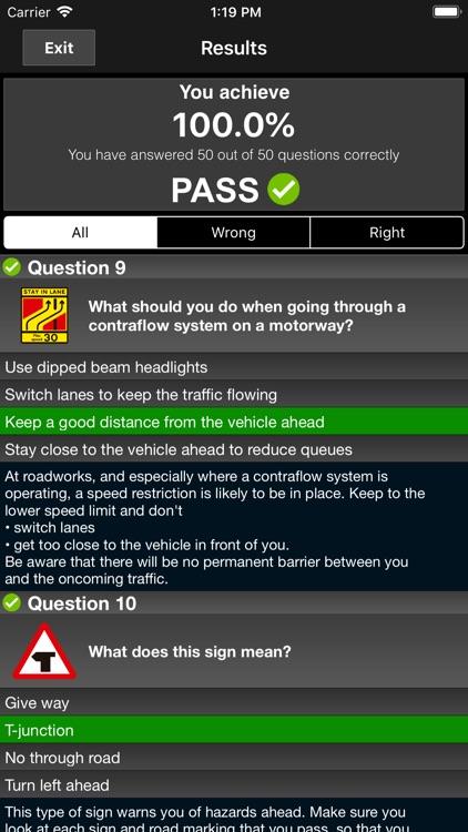Motorcycle Theory Test UK Pro