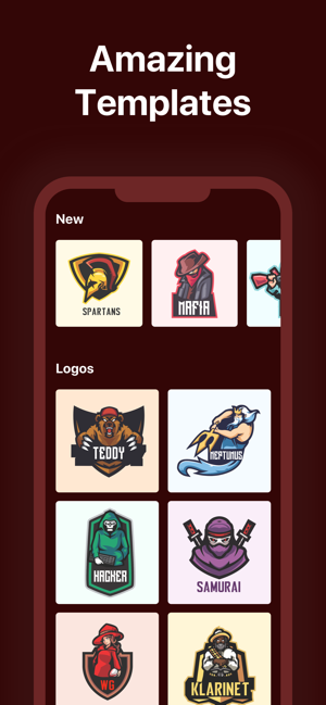 Clan Gaming Logo Maker On The App Store
