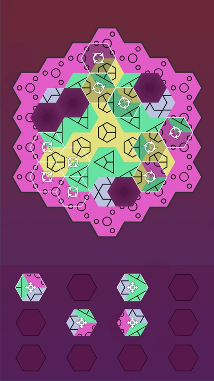 Aurora Hex - Pattern Puzzles screenshot-7