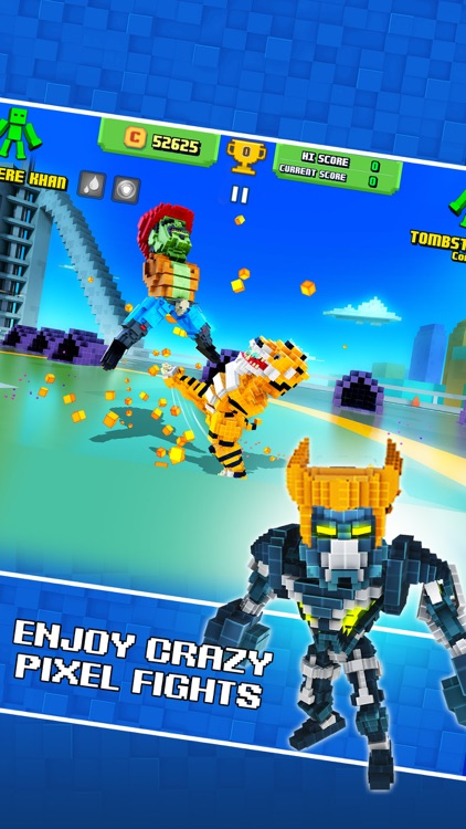 Super Pixel Heroes screenshot-3