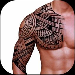 Tattoo Design on Photo