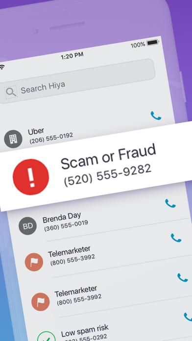 Hiya Call Security: Block Calls & Reverse Lookup screenshot