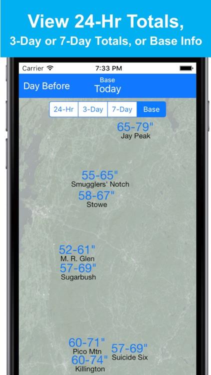 New England Snow Map screenshot-3