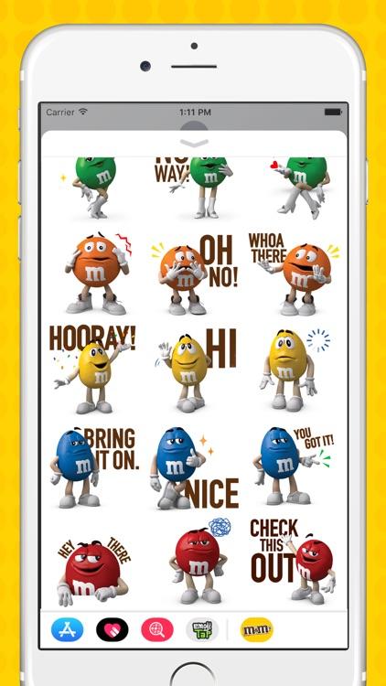 M&M'S Stickers screenshot-3