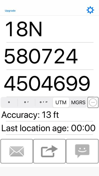 My GPS Coordinates screenshot-3