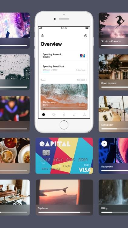 Qapital: Save. Invest. Spend. screenshot-0