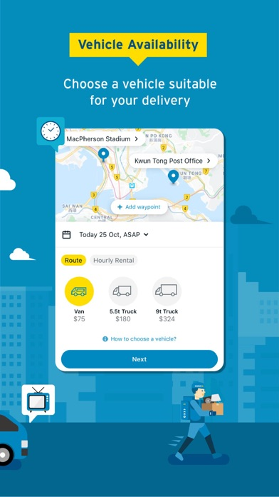 GOGOVAN – Your Delivery App screenshot four