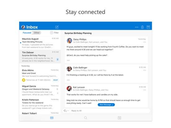 Screenshot #1 for Microsoft Outlook