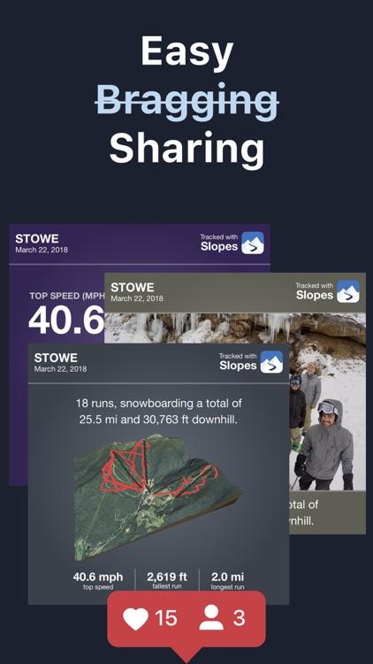 Slopes: Ski & Snowboard screenshot-5