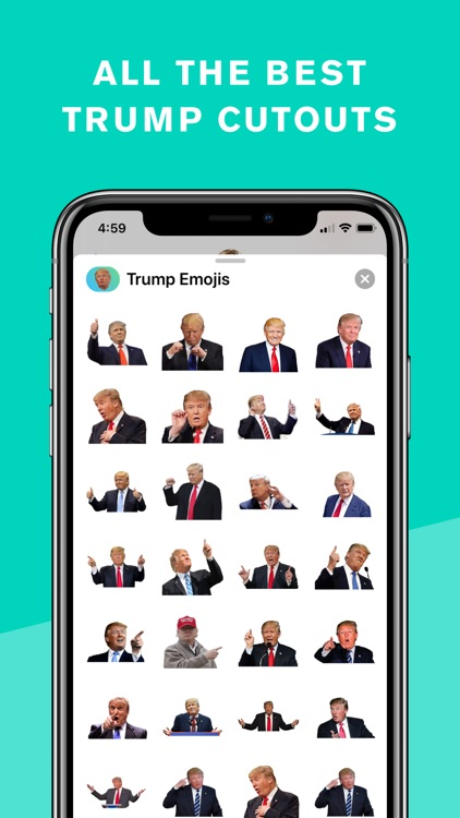 Trump Keyboard & Stickers screenshot-8