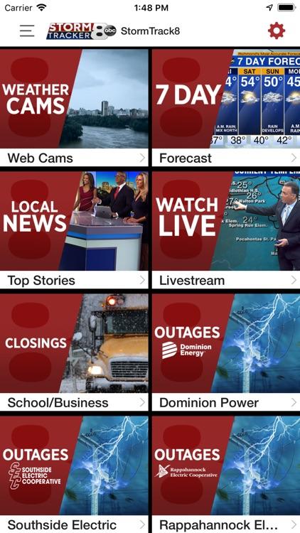 WRIC StormTracker 8 Weather screenshot-4