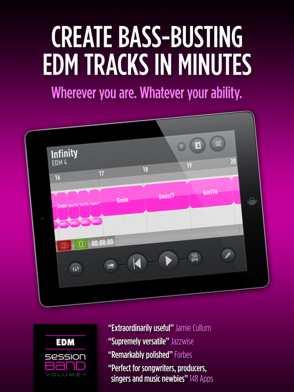 SessionBand EDM 1 Screenshots