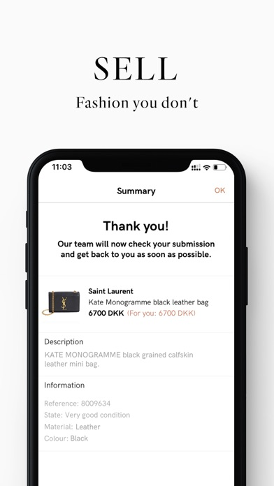 Screenshot for Vestiaire Collective in Poland App Store