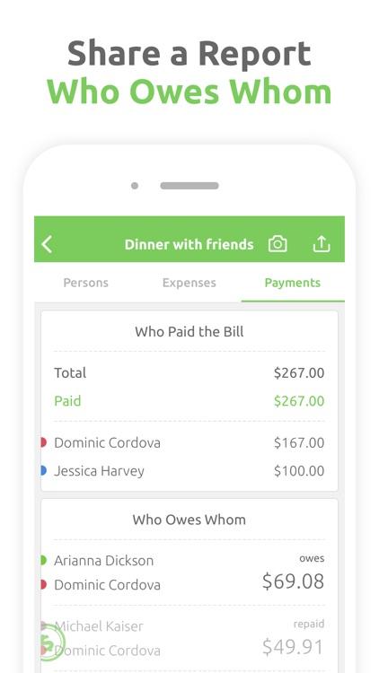 Fairsplit: Split the Bill screenshot-3