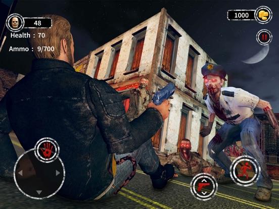 Dark City Zombie Shooting 3D screenshot 11