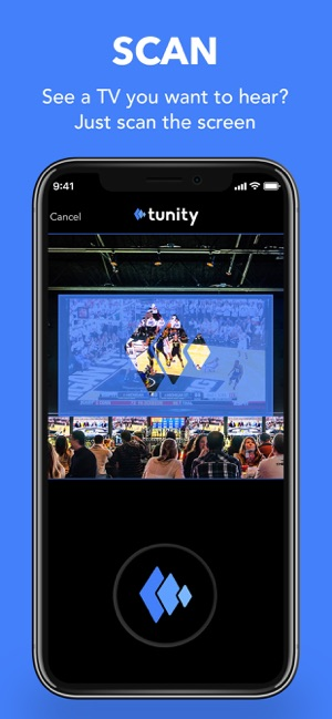 Tunity: Hear any muted TV on the App Store