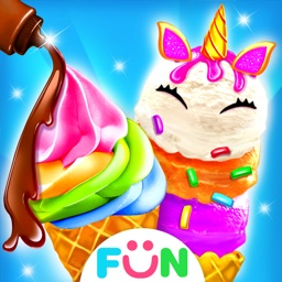 Unicorn Ice Cream-Chef Games