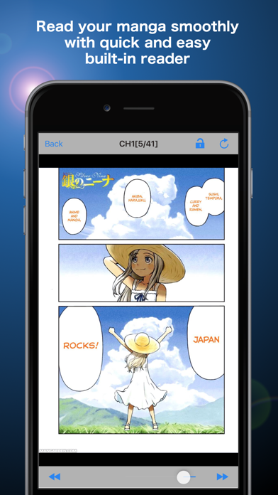 Screenshot for Manga Storm in United States App Store