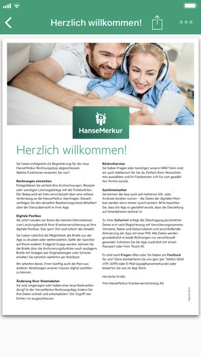 Herunterladen HanseMerkur RechnungsApp für Pc