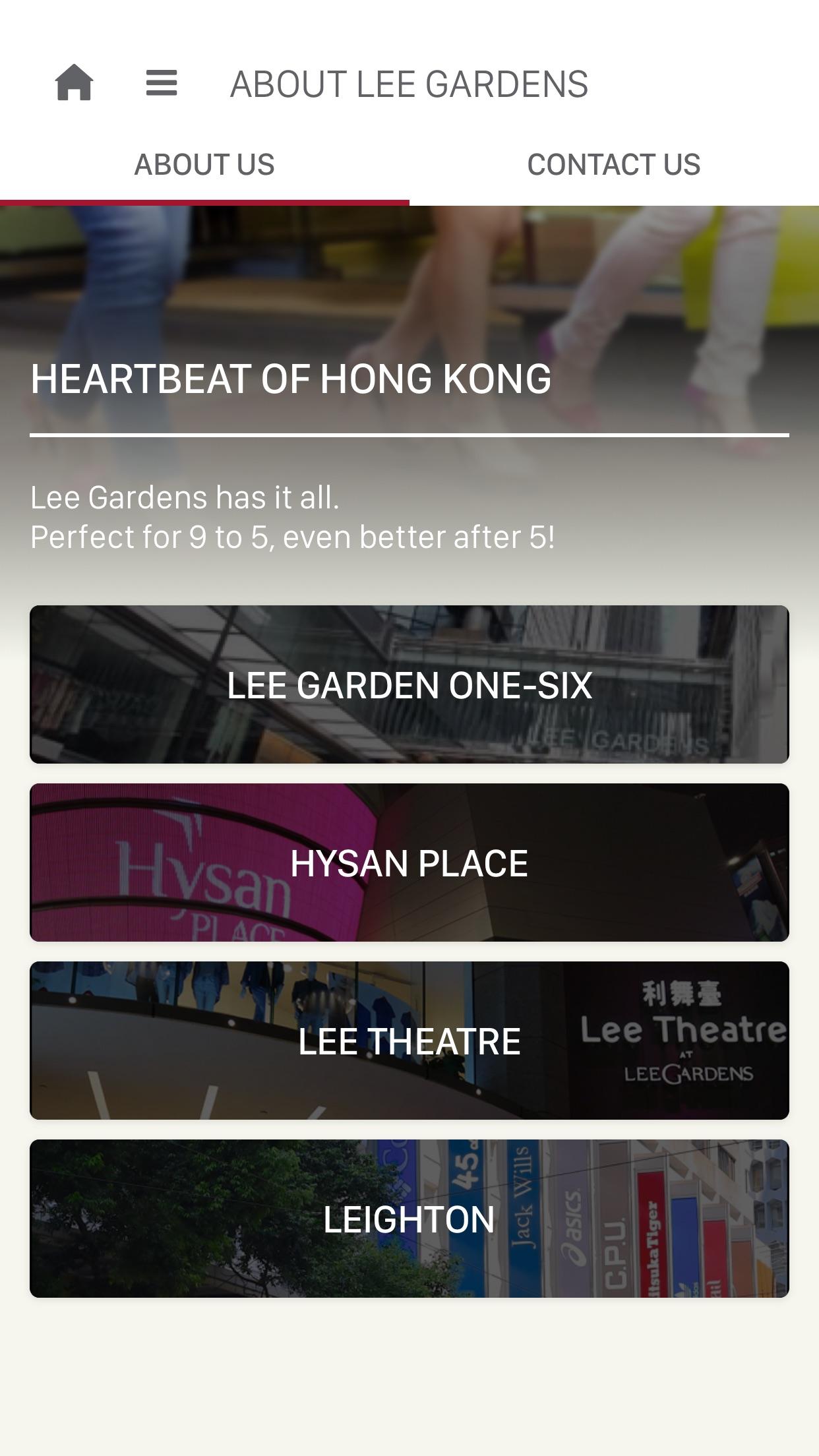 Lee Gardens Screenshot