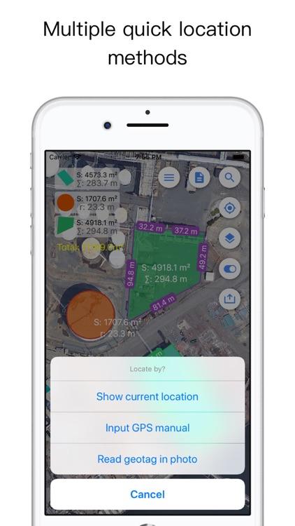 Planimeter for map measure screenshot-5