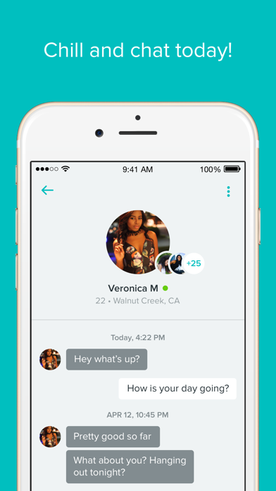 Screenshot for Tagged -Chill, Chat & Go Live! in United States App Store