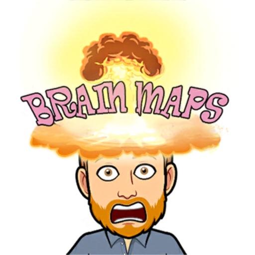 Brain Maps - puzzles, riddle