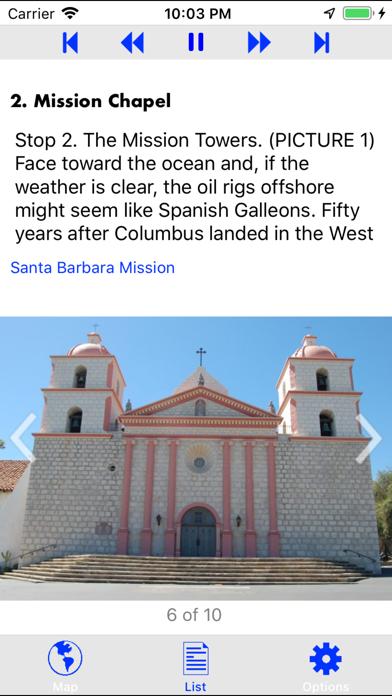 Santa Barbara Mission Ext Tour Screenshots