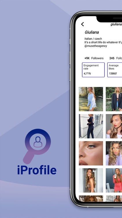 iProfile - Profile Analysis