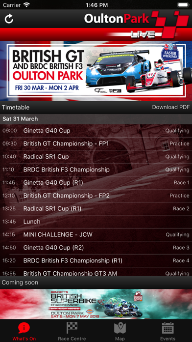 Oulton Park LIVE! screenshot one