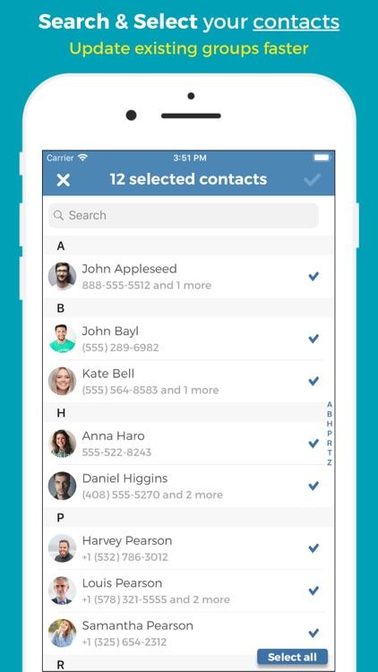 Groups - Group Text screenshot-3