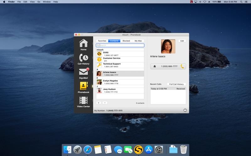 ntouch Screenshot